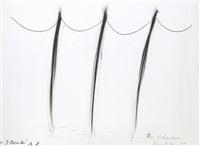 3 strich/3 verbundene [3 lines/3 affiliations] by arnulf rainer and dieter roth